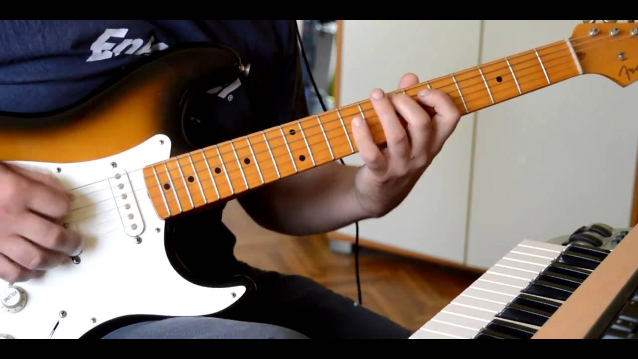 Robinja - ROCK KO FOL - guitar cover lesson - YouTube