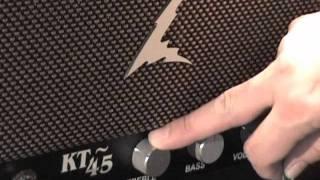 Dr Z KT-45 guitar amplifier demo