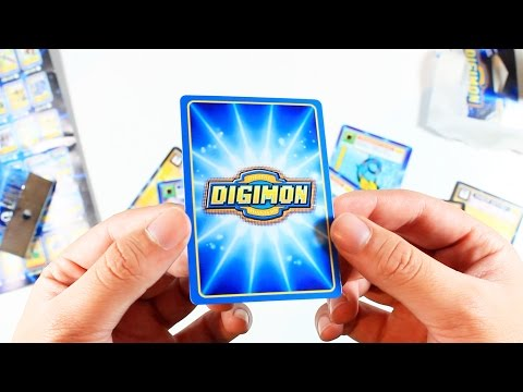 Opening Old School Digimon Cards From 1999