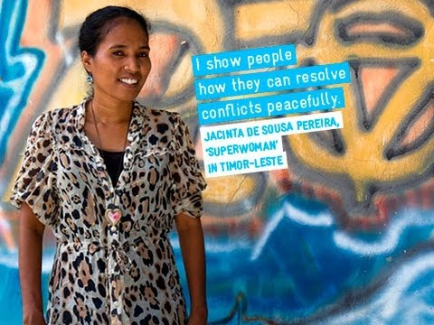 Faces & Stories, Superwoman in Timor-Leste