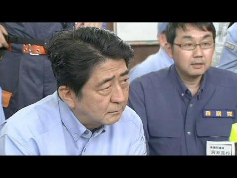 Japan's PM visits landslide-devastated Hiroshima