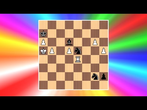 Cool Chess Puzzle #7 - L. Mitrofanov - Best Chess Puzzle Ever?