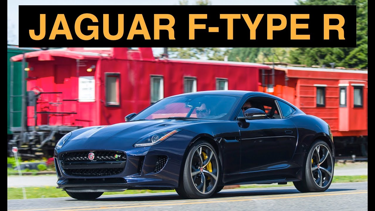 2016 Jaguar F Type R Coupe Review   A Love Story   YouTube