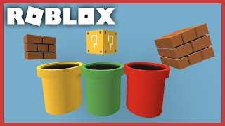 [ROBLOX Speed Build] - Super Mario Props