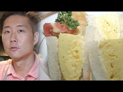 달걀만으로 기적을 만들어 낸 '일본식 샌드위치' @생활의 달인 584회 20170731