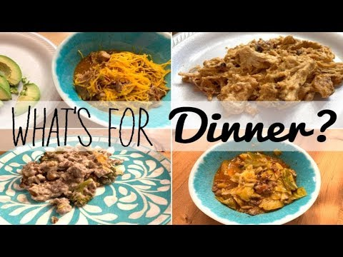 What's For Dinner | Crockpot Meals | Keto Friendly Meals | Living In The Mom Lane