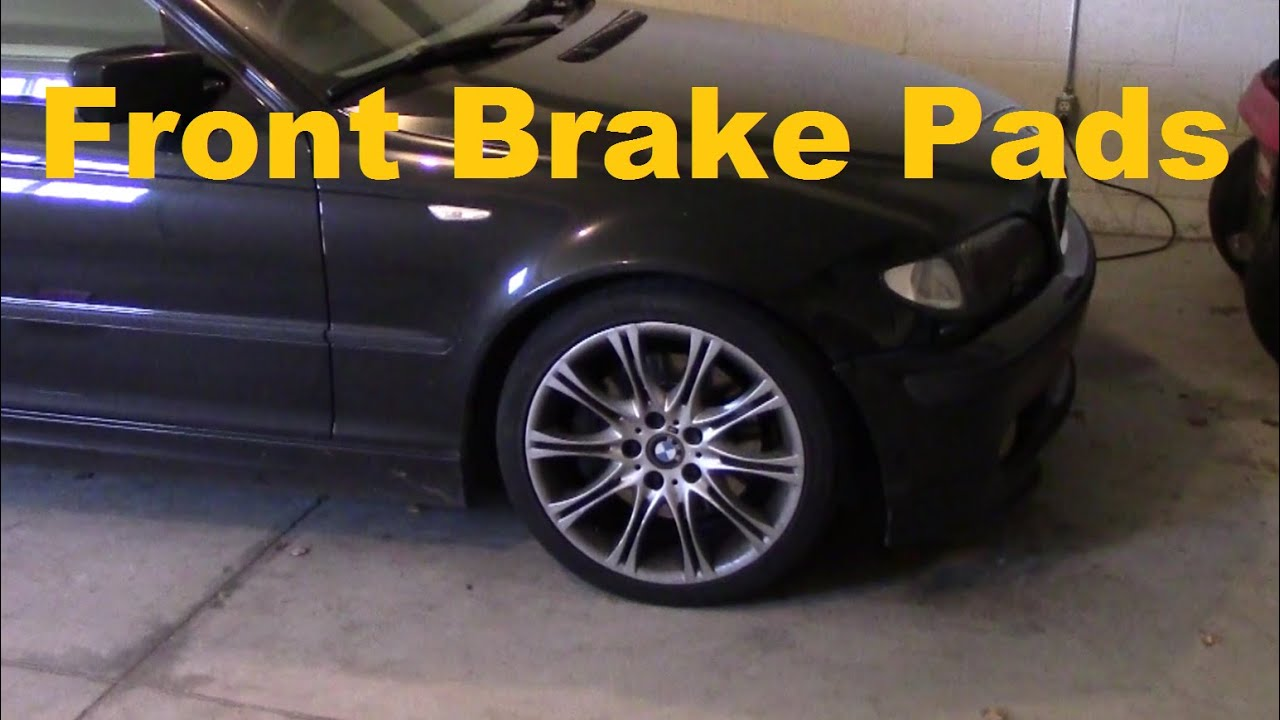 Brembo Brake Pads >> BMW Front Brake Pad Change. 330i ZHP 3 Series. E46 - YouTube
