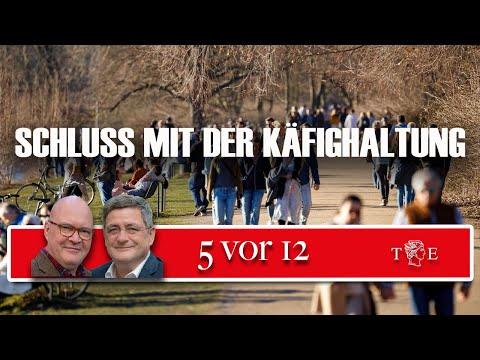 """""""5 vor 12"""" - Schluss mit der Käfighaltung"""