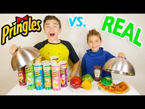 pringles-vs-real-food-challenge---vraie-nourriture-ou-pringles-?