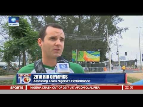 News@10: Nigeria Win Bronze Medal In Rio Olympics Football 20/08/16 Pt 4