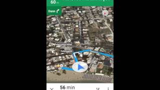 Google Maps going crazy in Greece Free HD Video