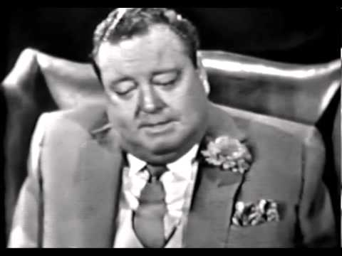 Fr. James Lloyd interviews Jackie Gleason on NBC's Inquiry