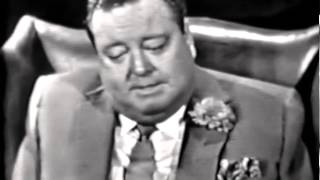 Fr. James Lloyd interviews Jackie Gleason on NBC