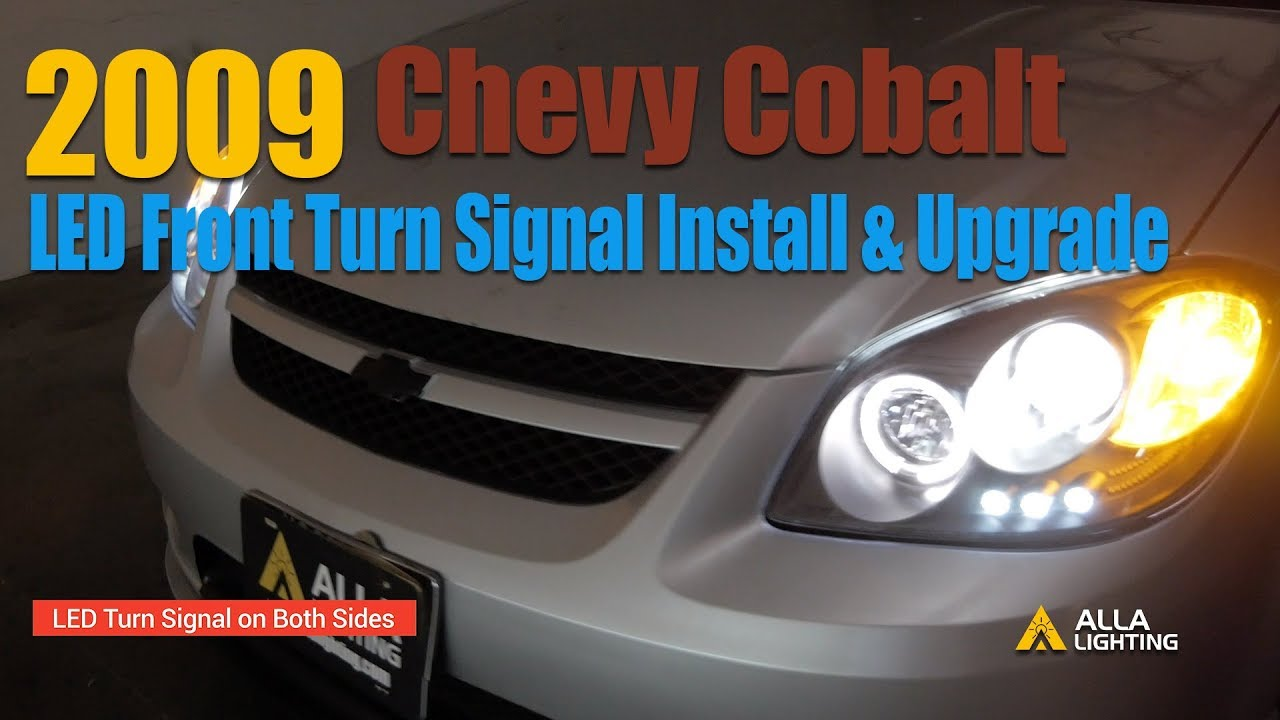 how to change 2005 10 chevy cobalt front turn signal light to led bulb GM Turn Signal Wiring