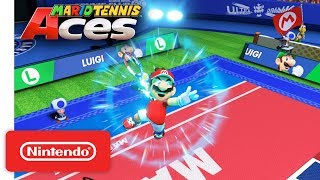 Mario Tennis Aces - Who Will Hit the Court Next? - Nintendo Switch