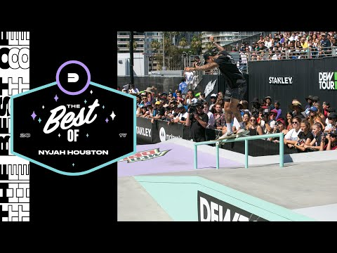 Best of Nyjah Huston | Dew Tour Long Beach 2017