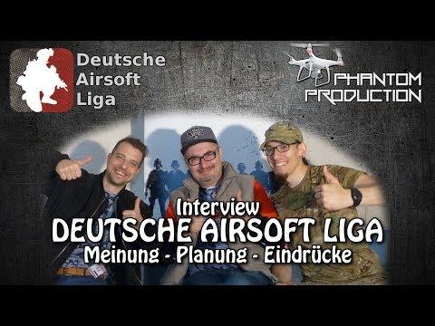 Interview Deutsche Airsoft Liga - Meinung, Planung, Eindrücke
