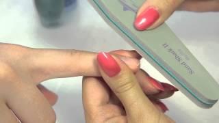 Запечатывание ногтей. Урок от Аллы Кравченко. Компания Виктори
