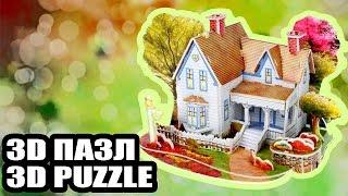 Развивающий 3D пазл для детей  Деревенский домик конструктор с Aliexpress(, 2016-04-24T19:52:00.000Z)