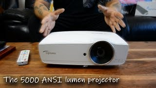 Optoma EH461 Projector Review - The 5000 ANSI Luman daytime projector