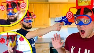 SHOTS FIRED DURING EGG HEAD CHALLENGE!!!!