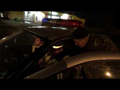 Сотрудники ДПС устроили погоню за пьяным водителем в Кимовске