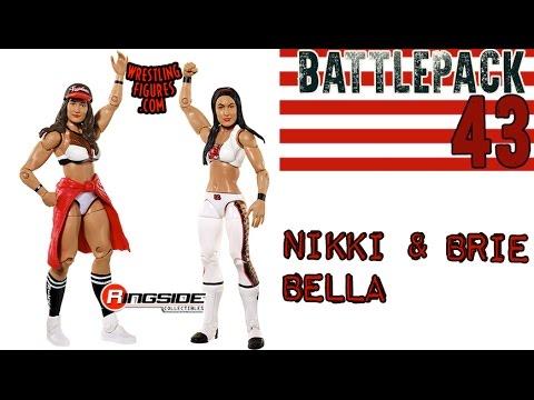 WWE FIGURE INSIDER: The Bella Twins - WWE Battle Pack Series 43 Wrestling Figure By Mattel thumbnail