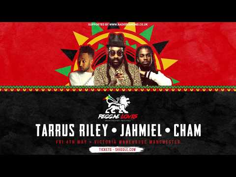 TAURUS RILEY, NESBETH, jAHMIEL & CHAM @ Reggae Loves Manchester Festival 4th May 2018
