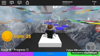 My first time in ROBLOX and I do PARKOUR