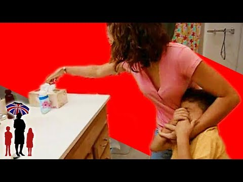 Thumbnail: Mother Shoves Soap In Kid's Mouth | Supernanny