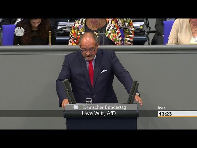 15.06.2018 Deutscher Bundestag Uwe Witt (AfD) zur Langzeitarbeitslosigkeit