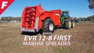 Jeantil EVR 12-8 FIRST Manure Spreader
