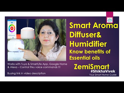 zemismart-smart-aroma-diffuser-&-humidifier-i-use-india-with-led-lamp,-know-benefit-of-essential-oil