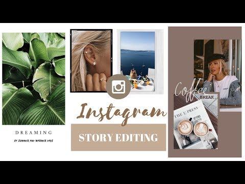 Instagram story photo layout app