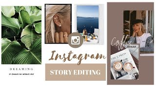 How I edit my INSTAGRAM STORIES photos & videos | FREE APPS