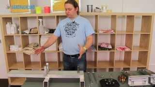 Ryonet Silver Press - Montage des Siebdruckkarussells