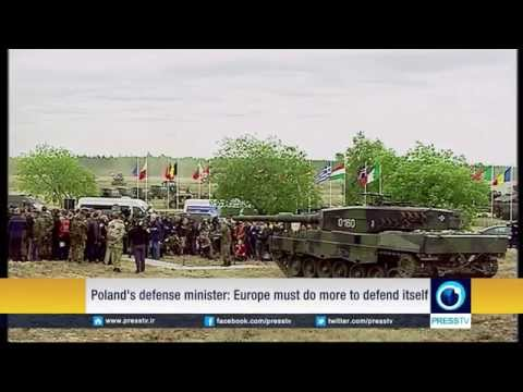 Breaking News July 2015 New Cold War NATO member Poland says European post-cold war peace now over