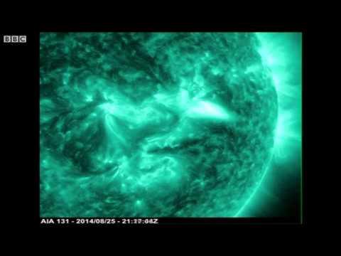 NASA công bố hình ảnh bão mặt trời mới