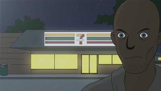 True 7 Eleven Quarantine Lockdown Horror Story Animated