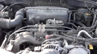 Subaru Legacy Boxer Engine Sound
