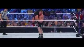 Brock Lesnar break the Streak of the Undertaker (21-1) WRESTLEMANIA XXX