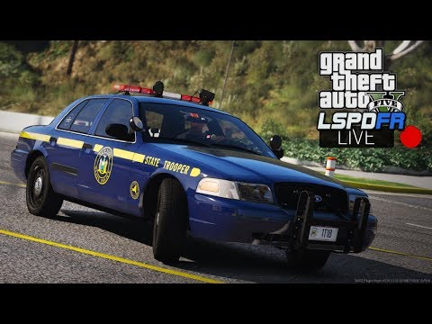 GTA 5 LSPDFR LIVE - Day 95 | New York State Police | LSPDFR NYSP Police Patrol 🚔 BETA Pack by t0y!
