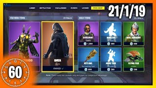 MOTHMANDO & OMEN SKINS | 60 Second Fortnite Shop (Fortnite Battle Royale)