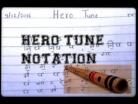 Hero tune notation and saragam watch full video you will understand many things about channal