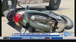 S. Division Avenue crash kills moped driver