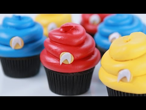 Make STAR TREK CUPCAKES - NERDY NUMMIES Pictures