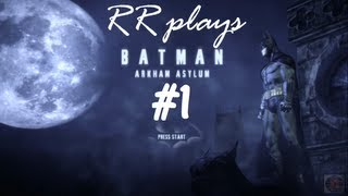 Batman Arkham Asylum: Walkthrough/Playthrough part 1 (PS3) - No commentary
