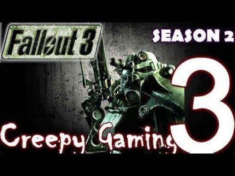 Creepy Gaming - FALLOUT 3 Scary Easter Eggs & Locations |