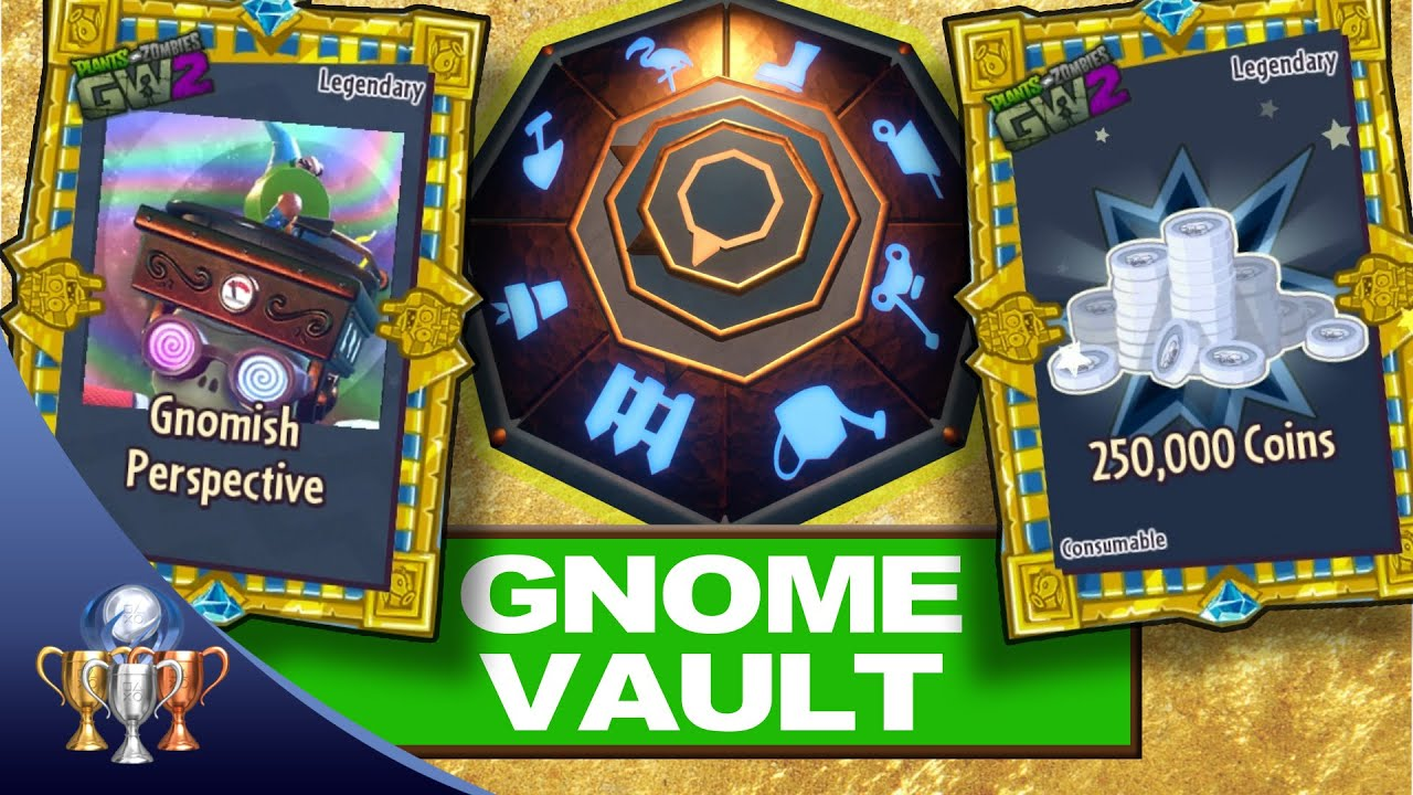 Plants Vs Zombies Garden Warfare 2 Secret Gnome Puzzle Legendary Chests 500 000 Coins