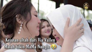 Kejutan ultah dari Via Vallen malah bikin mama nangis ( VvLog )